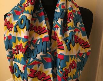 Pow Zap infinity scarf