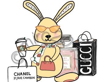 Bougie Bunny Printable