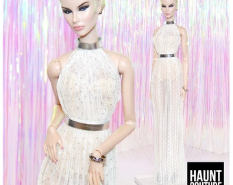 "Fashion Royalty Doll Haunt Couture ""Shimmer""  high fashion fierce integrity look"