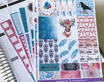 Free Spirit Full Collection - Planner Stickers - Erin Condren - No White Space Planning