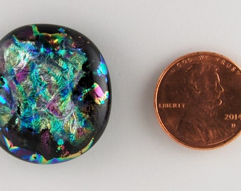2758 dichroic cabochon - free shipping