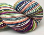 Self striping merino nylon sock yarn- I'm not cool enough to say Bae
