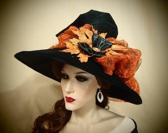 """Witch Hat """"Orange Glow"""""""