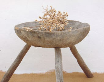 Primitive Milking Stool - Antique Stool