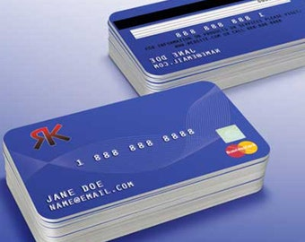Custom Creative Business Card- Credit Card