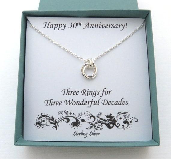 Gift For 30 Wedding Anniversary: 30th Anniversary Gift Job Anniversary 30 Years Job 30 Years