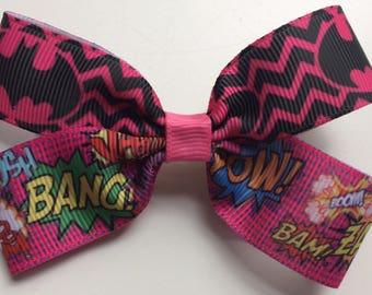 Swell Batgirl Hair Bow Etsy Short Hairstyles For Black Women Fulllsitofus