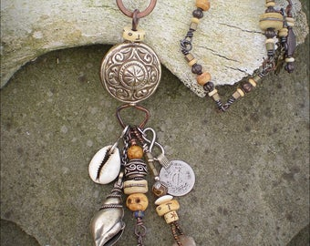 Mountains to the Sea Amulet Necklace