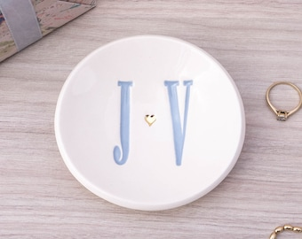 Personalised Wedding, Engagement or Anniversary Ring Dish