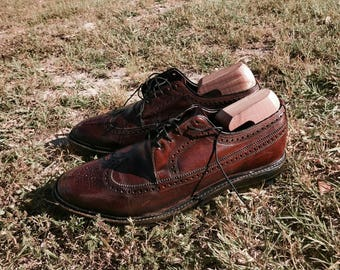 Wingtip / Brogue Shoes Sz 8.5