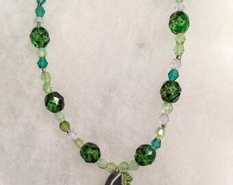 Ceramic Dragon Necklace