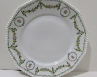 Nymphenburg Perl Pearl Plate Hand Painted Beauty !!!! Hard To Find !!