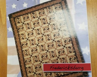 Civil War Quilt Pattern. Civil War Battle Series Quilt Fredericksburg Clothesline Quilts