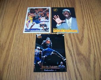 3 Kevin Garnett (Minnesota Timberwolves) Rookie Cards