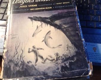 VINTAGE JULES VERNE Twenty Thousand Leagues Under the Sea