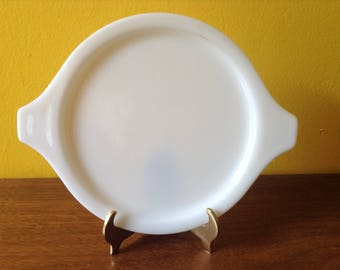 Rare Pyrex Solid Opal Lid Lucky In Love 473