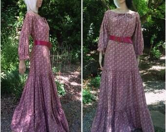 Vintage 1970's Laura Ashley Dress