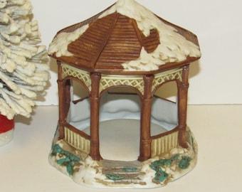 Mervyns Village Square Gazebo, 1991, Ceramic, Made in Taiwan