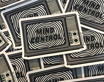 TV Mind Control sticker