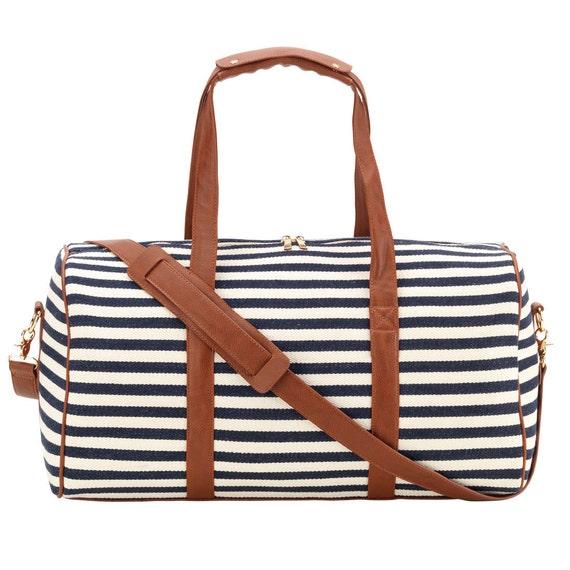 Chandler stripe duffel monogram duffel monogram luggage monogram bag free monogram monogram luggage preppy luggage