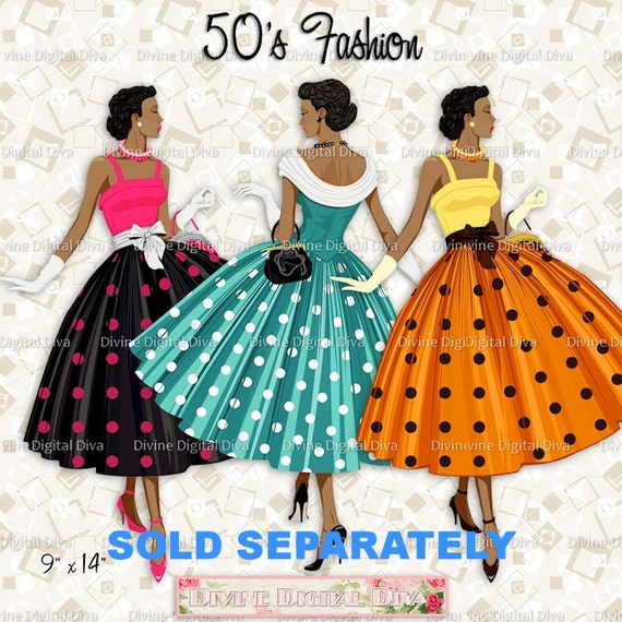 Superb Cupcake Topper Circles 50S Fashion Ladies African American Hairstyle Inspiration Daily Dogsangcom
