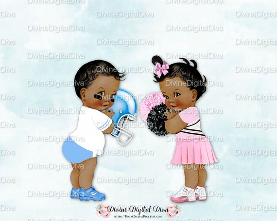 Baby Cheerleader Clipart