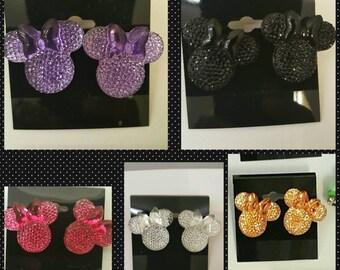 Beautiful  Bow Mouse Earrings