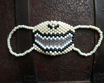 Human Mouth Kandi Mask