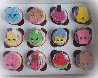 shopkins edible cupcake toppers