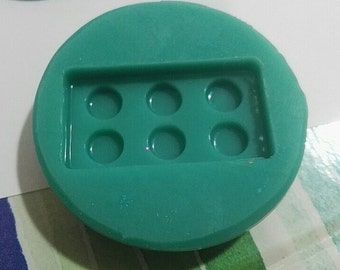 Brick. silicone rubber mold for resin