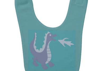 Custom Dragon Baby Bib