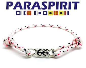 Paraspirit Reef Knot Adjustable Nautical Rope Bracelet