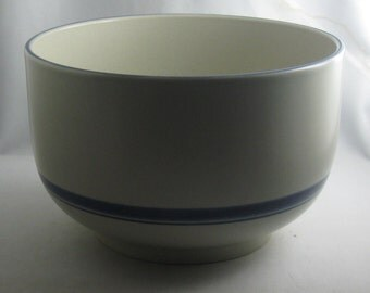 Rosenthal Germany studio-linie. Large Ceramic / pottery bowl. Terra Nastro. Design: Wolf Karnagel. Hand painted. VINTAGE