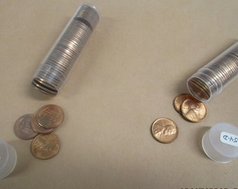 Lincoln pennies Bu 1954 D and 1952 D (one of each date only)