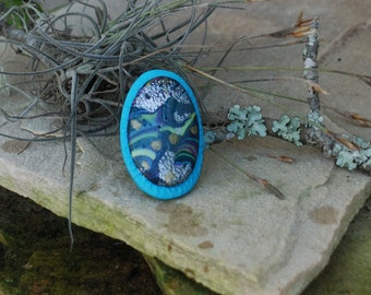 mystic mosaic ring