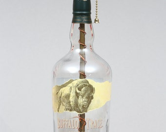 Buffalo Trace Bourbon Bottle Lamp