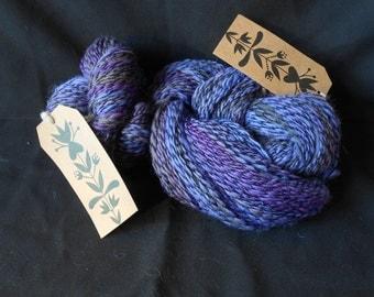 Handspun Yarn. Pure Wool. Cheviot 135g /310m