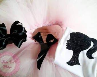 Fashion Barbie tutu set