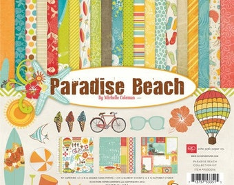 Echo Park Paradise Beach Collection Kit