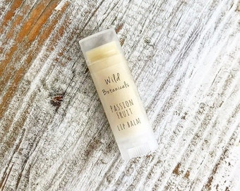 Passion Fruit Lip Balm, All Natural