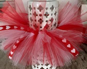 Valentines Day Tutu - Pink & Red Tutu - 2 Color Tutu - Baby Girl Tutu