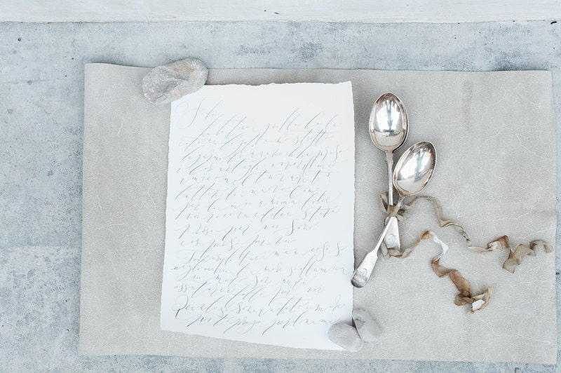 calligraphy by Moon and Tide