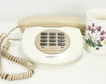 Vintage Soundesign Push Button Telephone