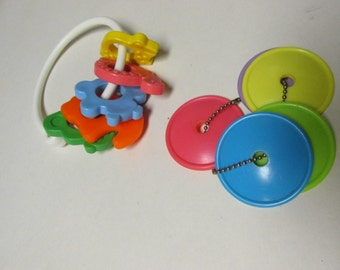 Vintage Baby Toys from the 70's