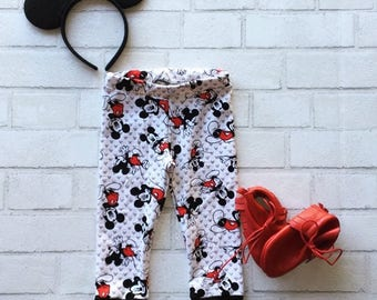 Mickey Mouse Baby and Toddler Leggings // Disney Apparel