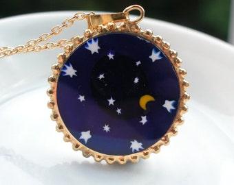 Moondance Murano Glass Necklace