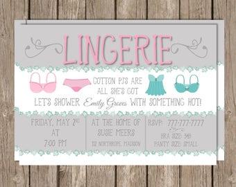 Lingerie Shower   Lingerie Party   Bachelorette Party