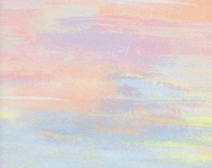 Watercolor in Multi -Menagerie -Anna Rifle Bond for Cotton + Steel