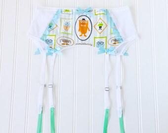 Little monster garter belt lingerie ddlg