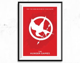 The Hunger Games Poster Print - Mockingjay Pin - Token